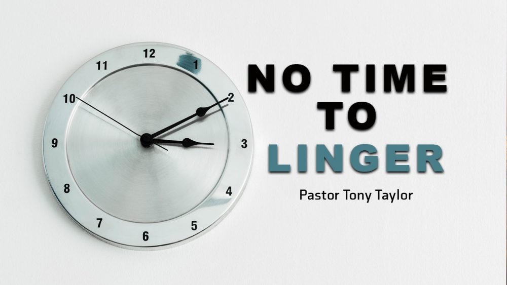 No Time To Linger Image